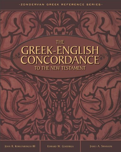 Greek-English Concordance to the New Testament
