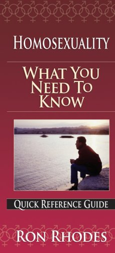Homosexuality - What You Need to Know