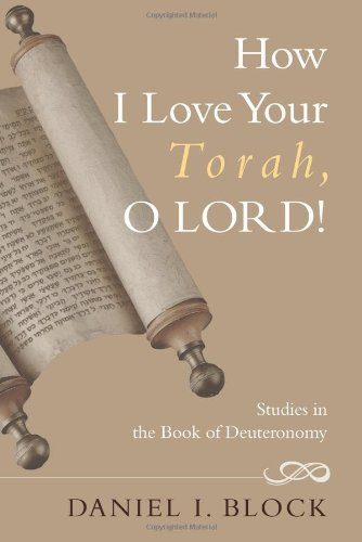 How I love your Torah O Lord