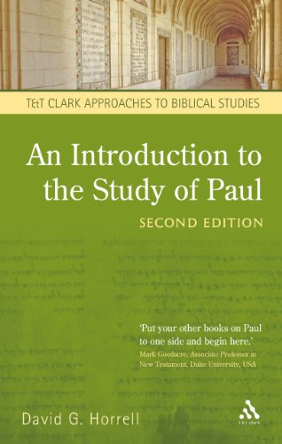 Introduction to the Study of Paul