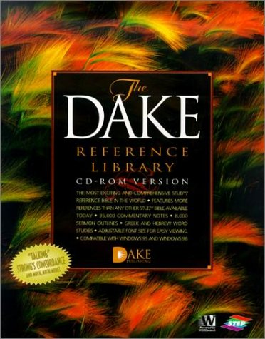 KJV Dake Reference Library CD-Rom