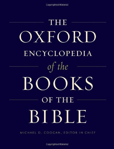 Oxford Encyclopedia of the Books of Bibl