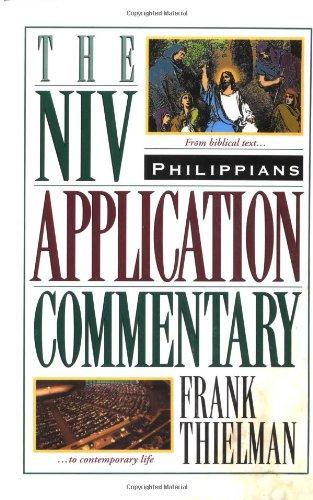 Philippians (NIV Application Commentary)