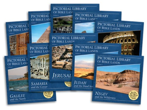 Pictorial Library of Bible Lands (10 CDs