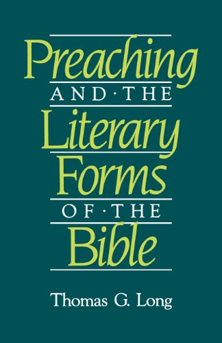 Preaching and the Literary Forms of the