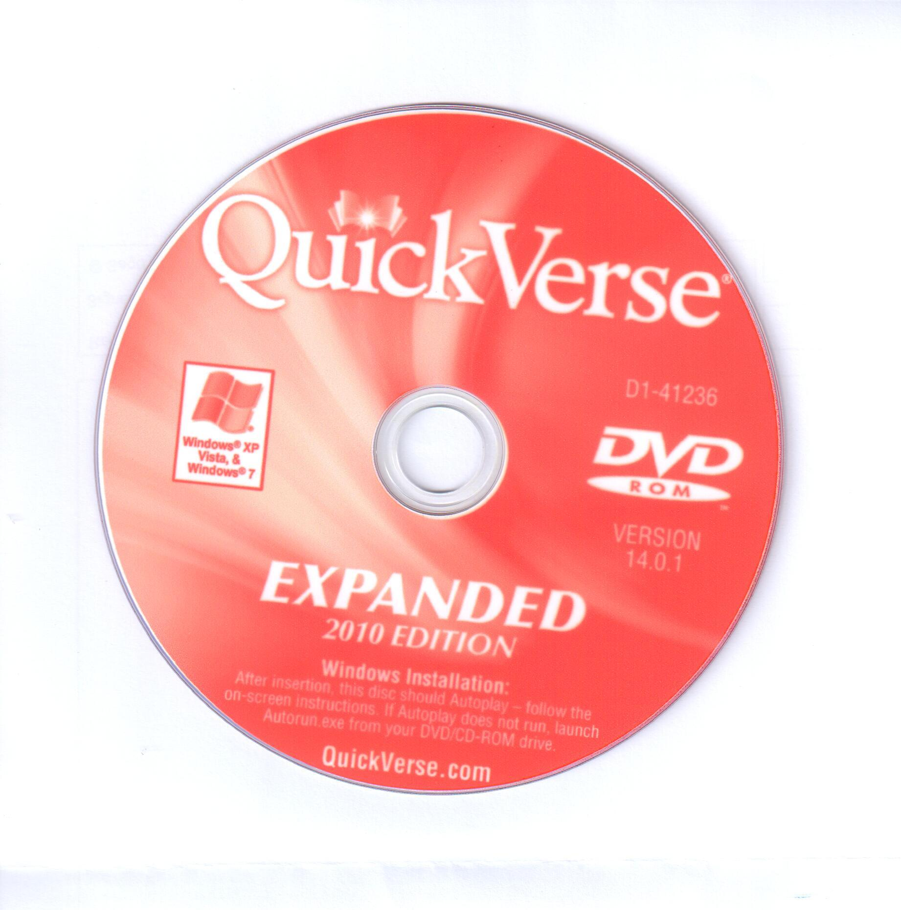 QuickVerse 2010 Expanded Edition