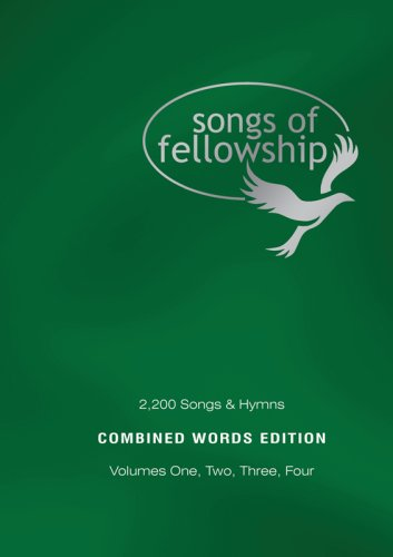 Songs of Fellowship (Combined Words 1-4)
