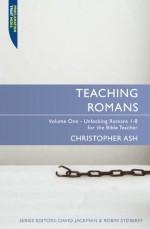 Teaching Romans Volume 1