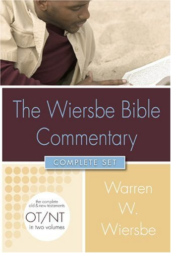 Wiersbe Bible Commentary (2 Vol Set) +CD