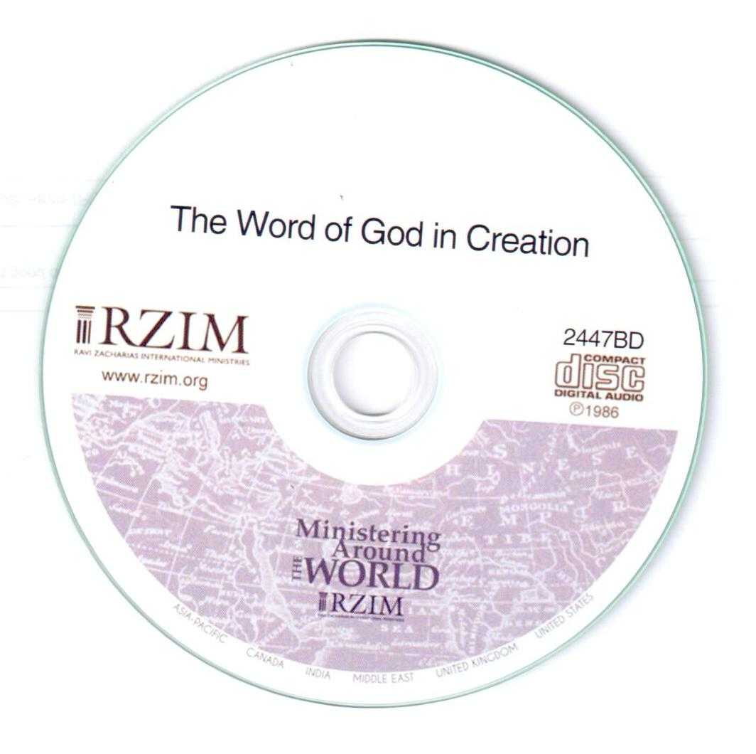 Word of God in Creation (CD)